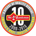 Mr. Handyman Ten Year Annivesary